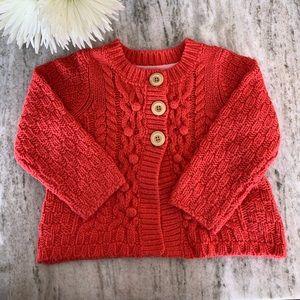 Cute Mini Boden Knit Cardigan 2-3 years 💫